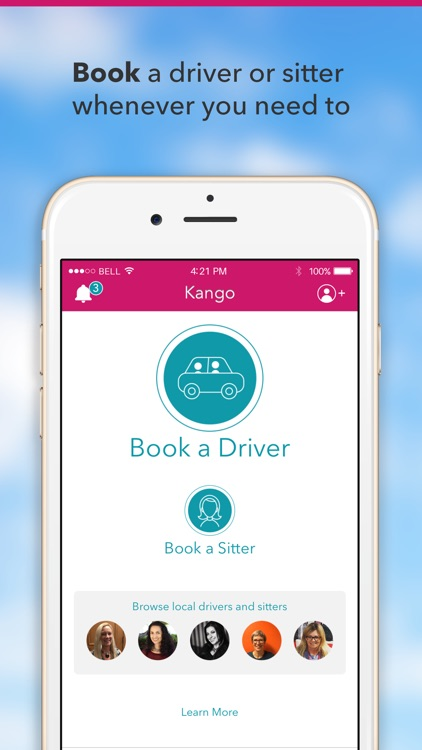 Kango - Rides and Childcare
