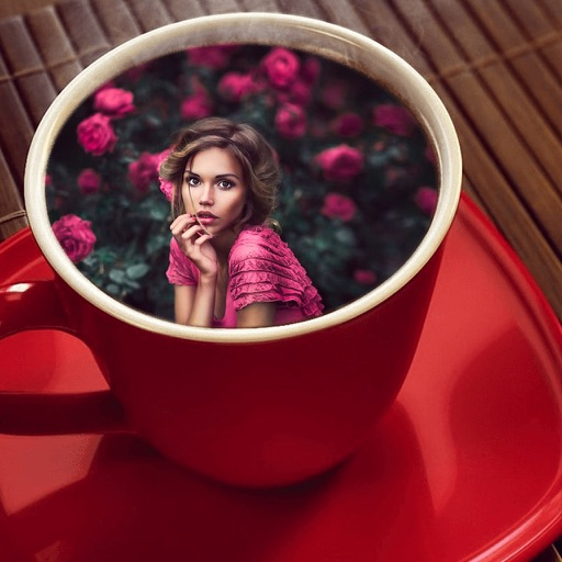 Coffee Mug Photo Frames - Decorate your moments with elegant photo frames iOS App
