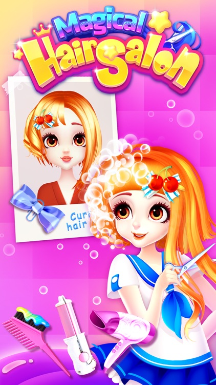 Hair Salon Games: Girls makeup