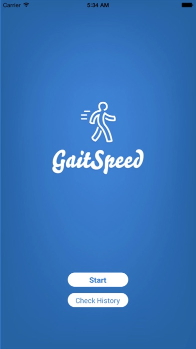 Gait Speed Screenshots