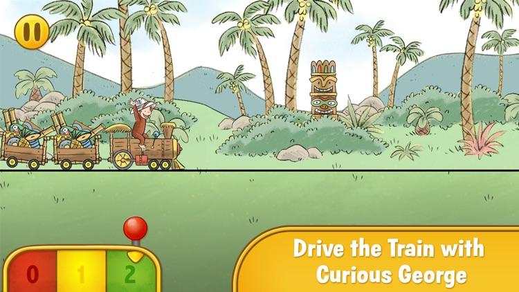 Curious George Train Adventures screenshot-0