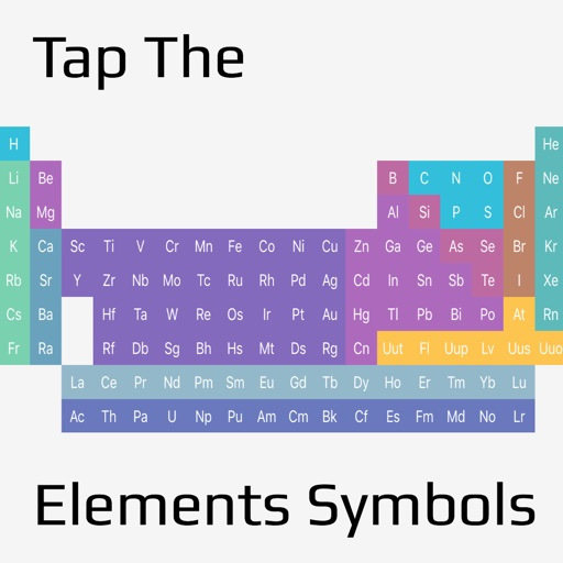 Tap The Elements Symbols Let Playing Memorize Element Symbol