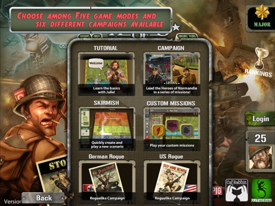 Heroes of Normandie на iPad