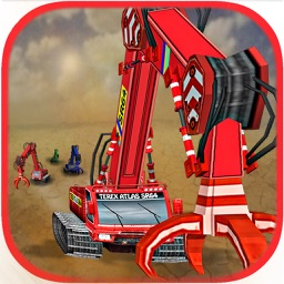 Excavator Race - 3D Heavy Duty Crane Racing Game