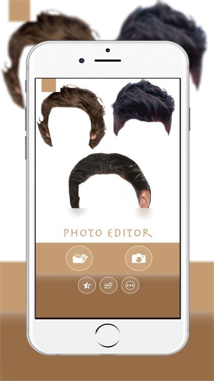 Man Hairstyle Photo Montage :