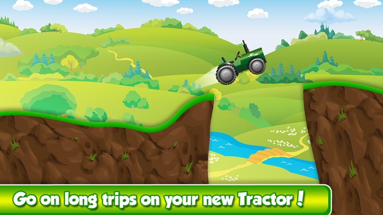 Mega Mud Tractor Race - Hillbilly Rally in Rocky Farm Mountains screenshot-3