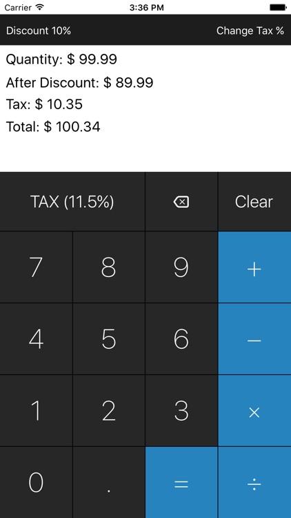 Taxealo Sales Tax Calculator screenshot-3