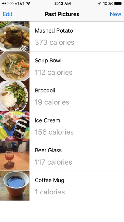 Food Calorie Counter - Automatically guess the calorie count in your food screenshot-3