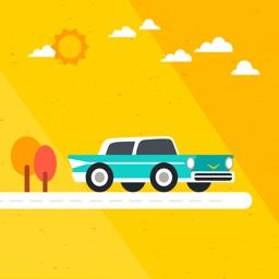 لعبة العربة الشقية Jump Car Game
