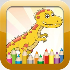 Activities of Dinosaur Coloring Book - Educational Coloring Games Free ! For kids and Toddlers