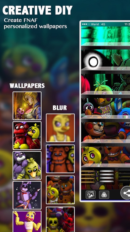 FNAF Wallpapers & Backgrounds Live Maker For Five Night's At Freddy's EDITION