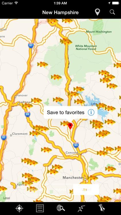 New Hampshire: Lakes & Fishes screenshot-4