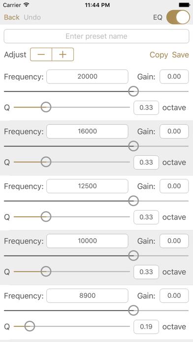 Screenshot #3 pour Studio Music Player | Égaliseur de 48 bandes
