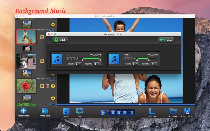 how to make a slideshow movie on mac