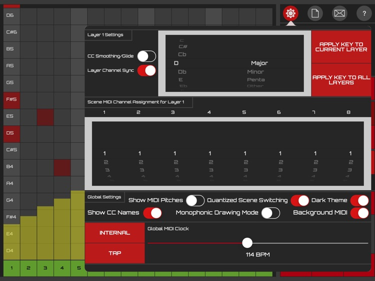 Koushion MIDI Step Sequencer screenshot-3