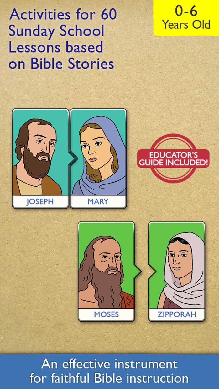 My First Bible Games for Kids, Family and School Screenshot