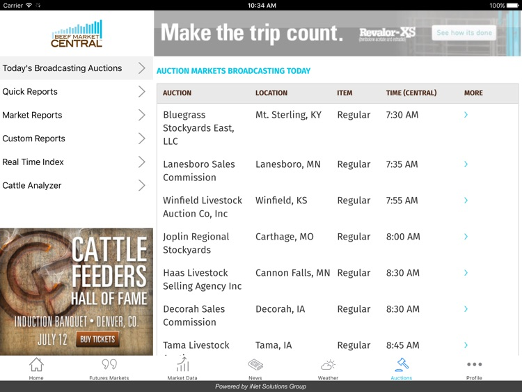 Beef Market Central for iPad screenshot-4
