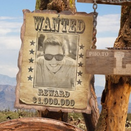 Wanted Photo Frame