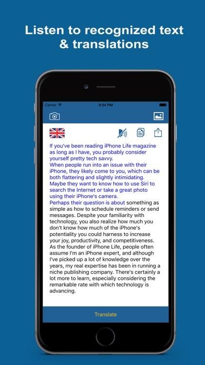 Text Extractor & Translator Pro screenshot-3