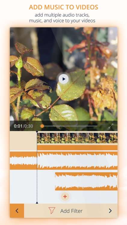 InstaVideo Editor - Trim & Add music to videos screenshot-0