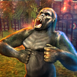 Gorilla Attack Simulator 2016 - Compete and Conquer as African King Kong