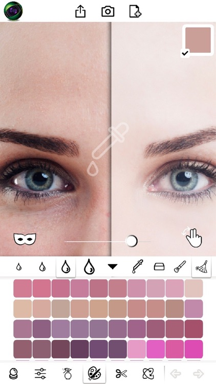 BS PRO - selfie makeup editor blur effects screenshot-0