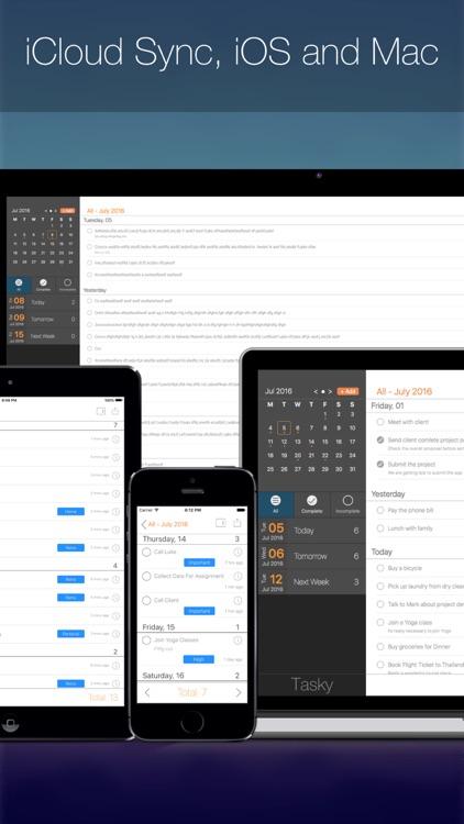 Tasky - ToDo & Task Manager screenshot-4