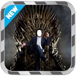 photo montage throne
