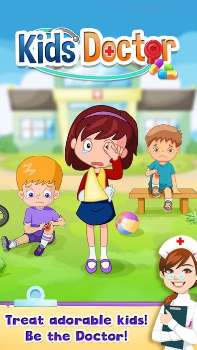 Kids Doctor Little Children Hospital Fun FREE Game screenshot one