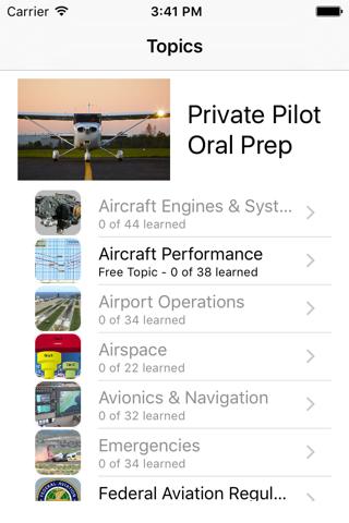 Private Pilot Oral Prep - náhled