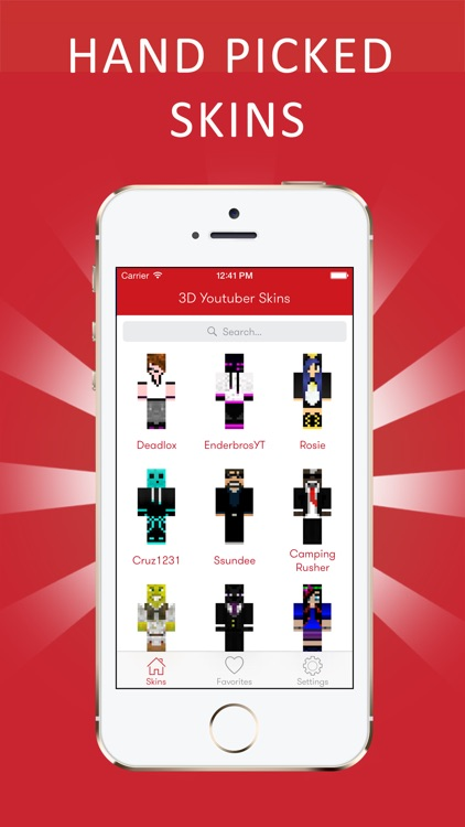 Best 3D Youtuber Skins for Minecraft PE