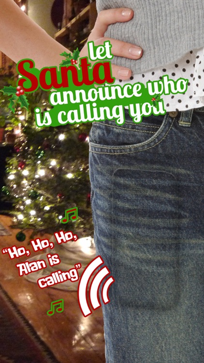 Santa Caller ID - Hear the name of every caller