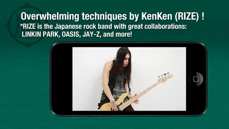 Bass Guitar Super Lesson by KenKen #1 screenshot-3