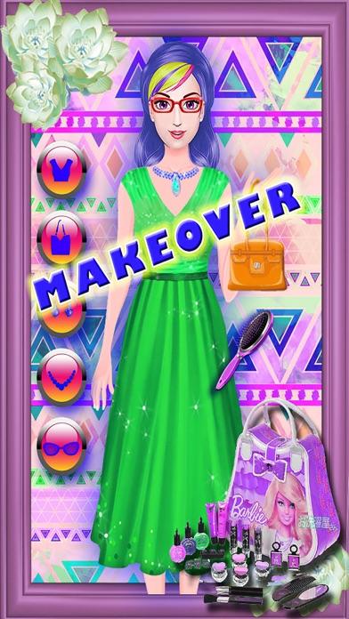 Princess Hair Salon - Beauty Makeover Hairstyles Girls Games screenshot four