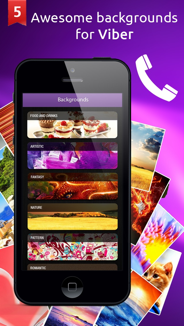 Love Wallpapers For Viber : Wallpapers and Backgrounds for Viber & WhatsApp App ...