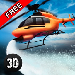 Emergency Fire Helicopter Simulator 3D