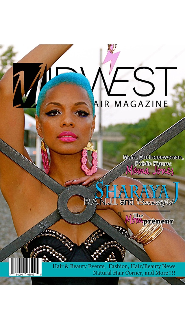 Screenshot 7 For Midwest Black Hair African American Styles Magazine