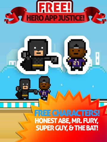 Knockout- Bat Versus Raven: Heroes of Justice Rice Edition-ipad-0