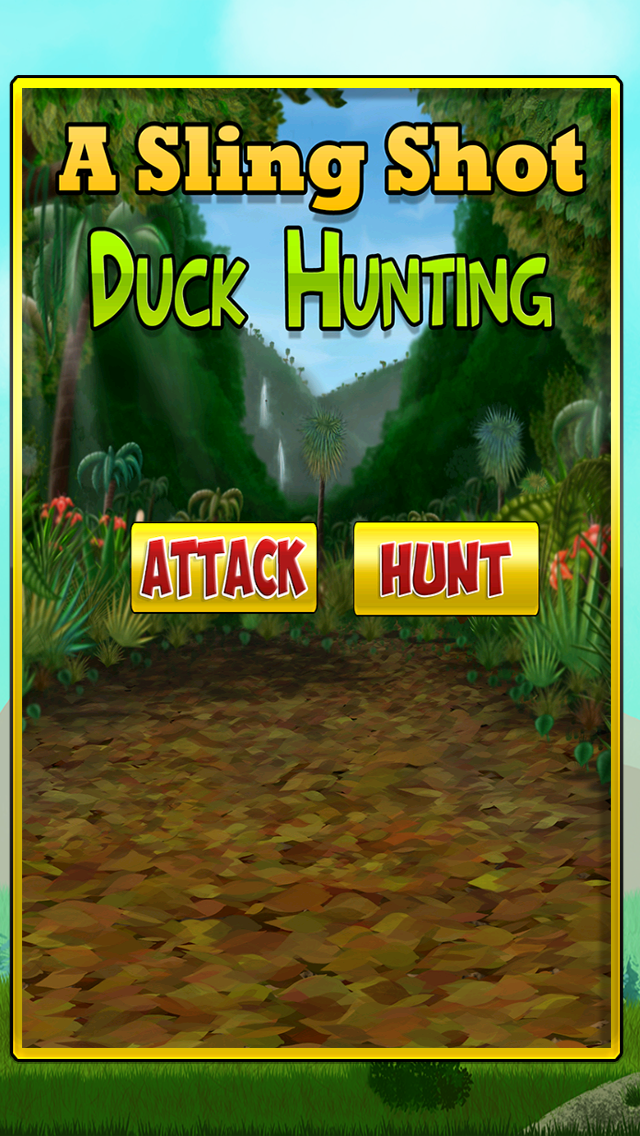 スリング ショット アヒル 狩猟 冒険: 最初の 人 狙撃兵 シューター ゲーム Freeのおすすめ画像1