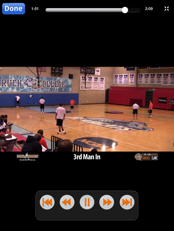 Handling Pressure Defenses: How To Penalize Aggressive Teams - With Coach Tom Pecora - Full Court Basketball Training Instruction - XL screenshot-3