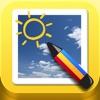 お絵かきカメラ - iPhoneアプリ