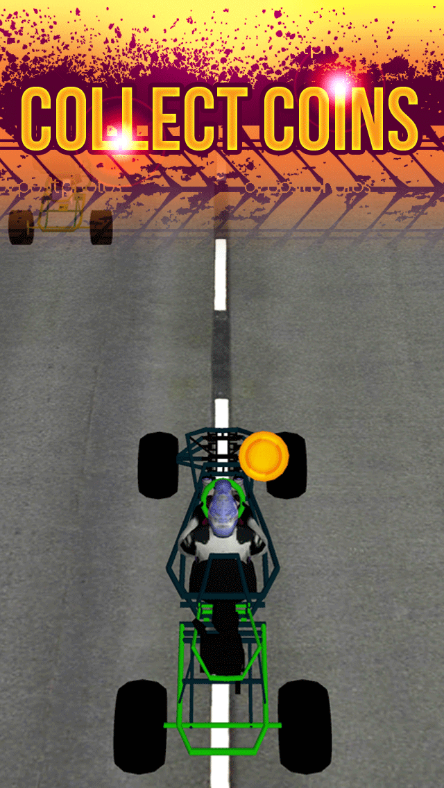 3Dゴーカート·レーシングの狂気によってストリートドライビング無料十代の若者たちのシミュレータゲームをエスケープのおすすめ画像2