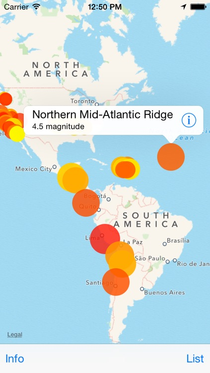 Mappity Quakes - Earthquake map