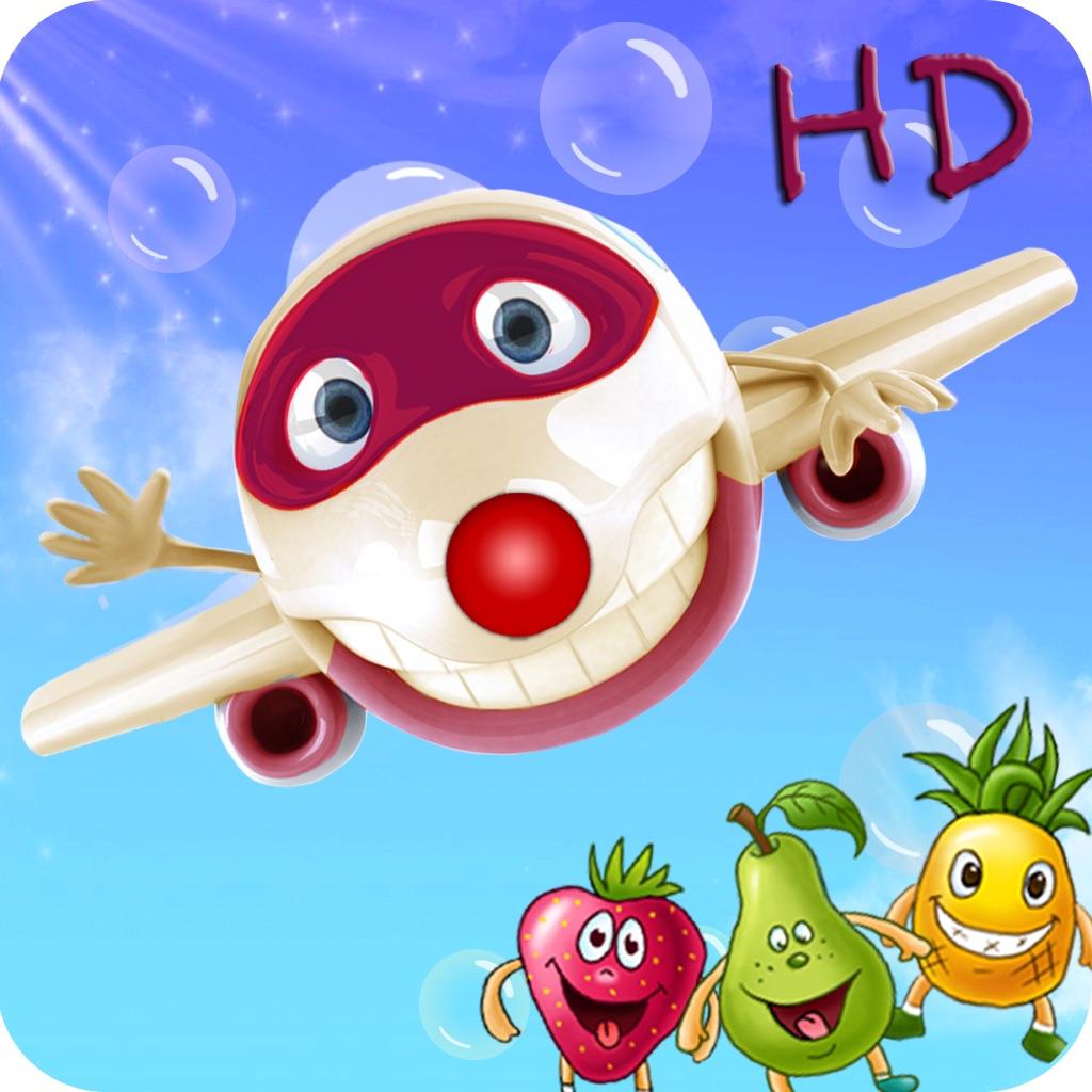 Aviator:Fruit And Number-Preschool Math Free:Kids Game HD hack