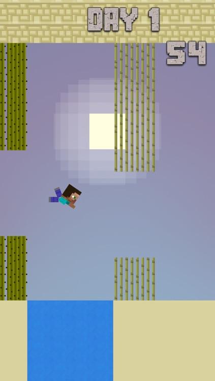 Crafty Steve - The Flappy Fun Bird Man screenshot-4