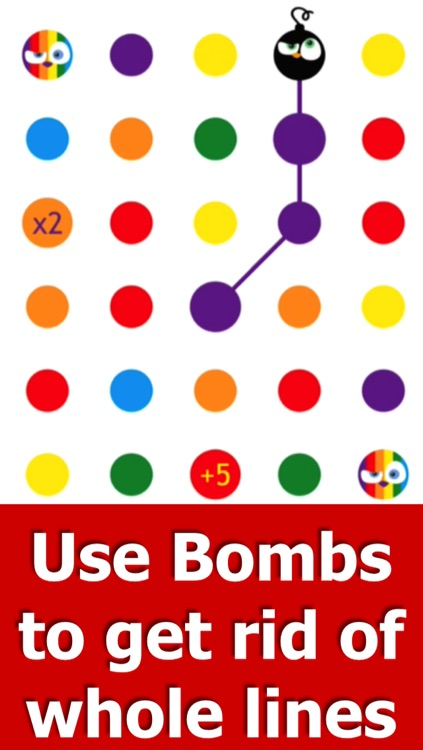Angry Dots - Free Puzzle Game: Think, Match & Connect screenshot-4