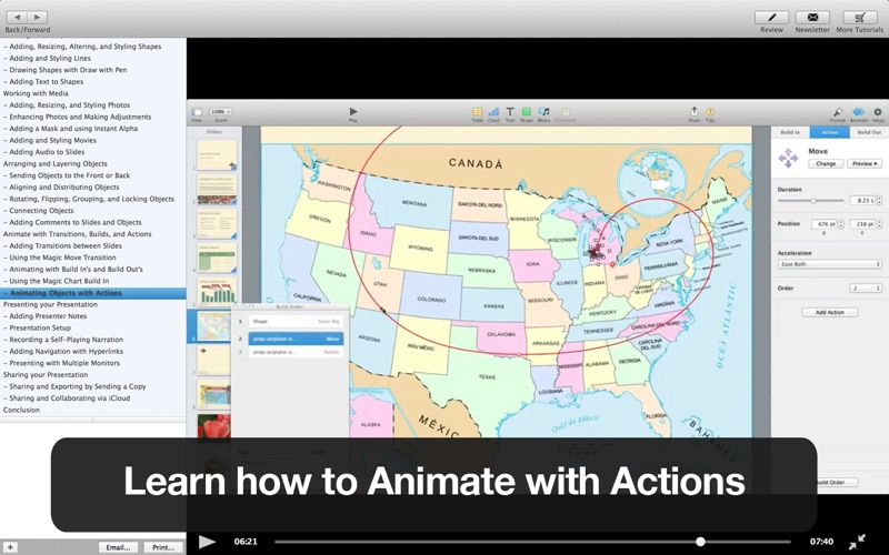 Tutor for Keynote Screenshot