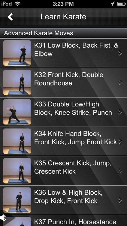 Karate Fitness screenshot-3
