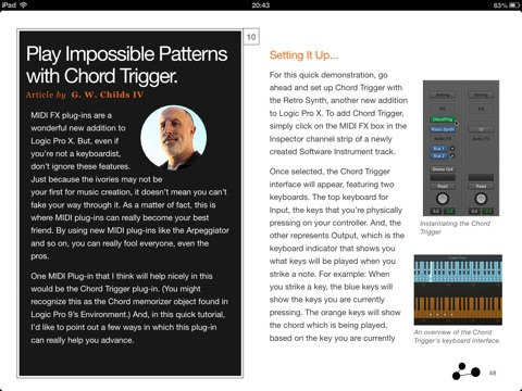 control ipad from iphone logic pro x new features explored by macprovideo 2985