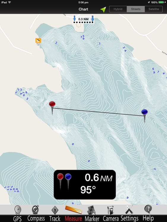 Maine Lakes GPS Charts Pro screenshot-1
